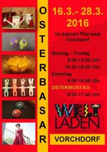 Osterbasar 2016 – Vorchdorf